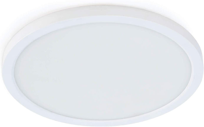 "Feit Electric 74202 8 Watt 4"" Round LED Dimmable Downlight With White Frame"