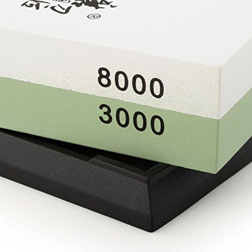 TAIDEA 3000/8000 Grit Combination Corundum Whetstone Knife Sharpening Stone / Double Two-Sided Knife Waterstone Sharpener T0914W
