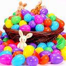 YEAHBEER 1000 Plastic Easter Eggs, Easter Hunt/Easter Theme Party Favor/ Basket Stuffers Fillers/Classroom Prize Supplies