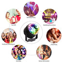 Letsfunny Disco Lights Sound Activated Strobe Light 7 Colors Party Lights Disco Ball for Parties, Karaoke, Celebration, Decoration