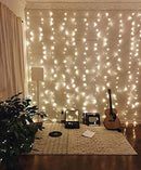 66Ft 200leds Waterproof Copper Wire Starry String Fairy Lights Bendable and Flexible Perfect DIY for Bedroom | Tapestry | Wedding | Party |Christmas|Garden | Indoor | Outdoor Wall Decor-Warm White