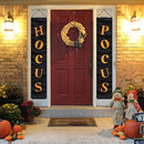 MORDUN Halloween Decorations Outdoor | Hocus Pocus Porch Sign | Witch Décor Banners for Party Yard Wall Outside Door Classroom Office