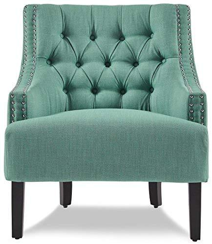 Homelegance Charisma Fabric Accent Chair, Indigo