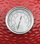 Thermometer Fits for Kamado Grill Joe KJ and many style BBQ Charcoal Smoker Pits