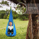 INTEY kids Hanging Chair Child Pod Swing Chair Nook Kids Hammock Chair for Outdoor and Indoor Use