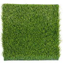 Juvale Synthetic Grass - 4-Pack Artificial Lawn, Fake Grass Patch, Pet Turf Garden, Pets, Outdoor Decor- Non-Slip Turf, Green, 12 x 0.25x 12 inches
