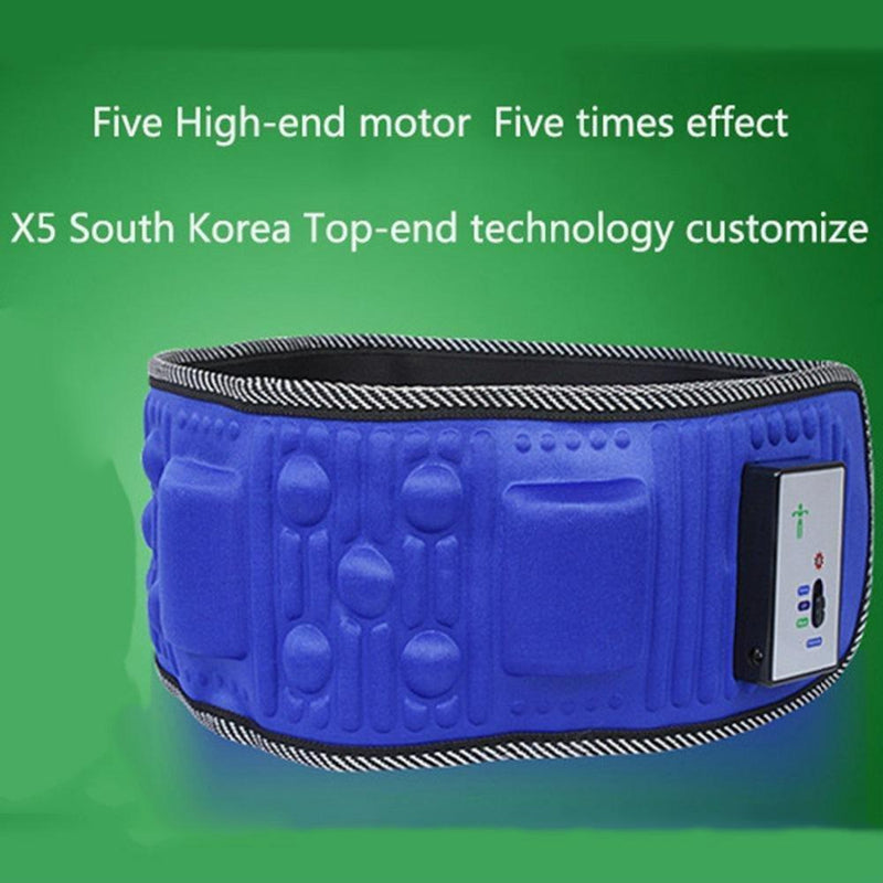 Electric Vibrating Slimming Belt Massager Weight Loss Belt Vibration Burning Fat Lose Weight Shake Belt Waist Trainer- Massage Waist Exerciser Rejection Fat Waist Massager for Men & Women