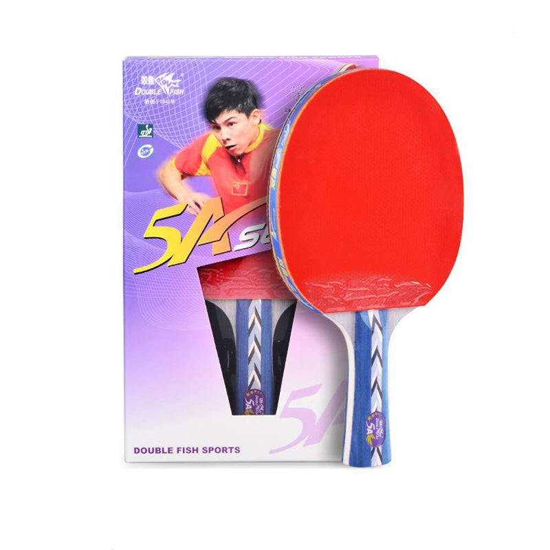 SSHHI Sports Ping Pong Racket Set,Beginner Table Tennis Paddle for Schools and Clubs,Fashion/As Shown/Short Handle