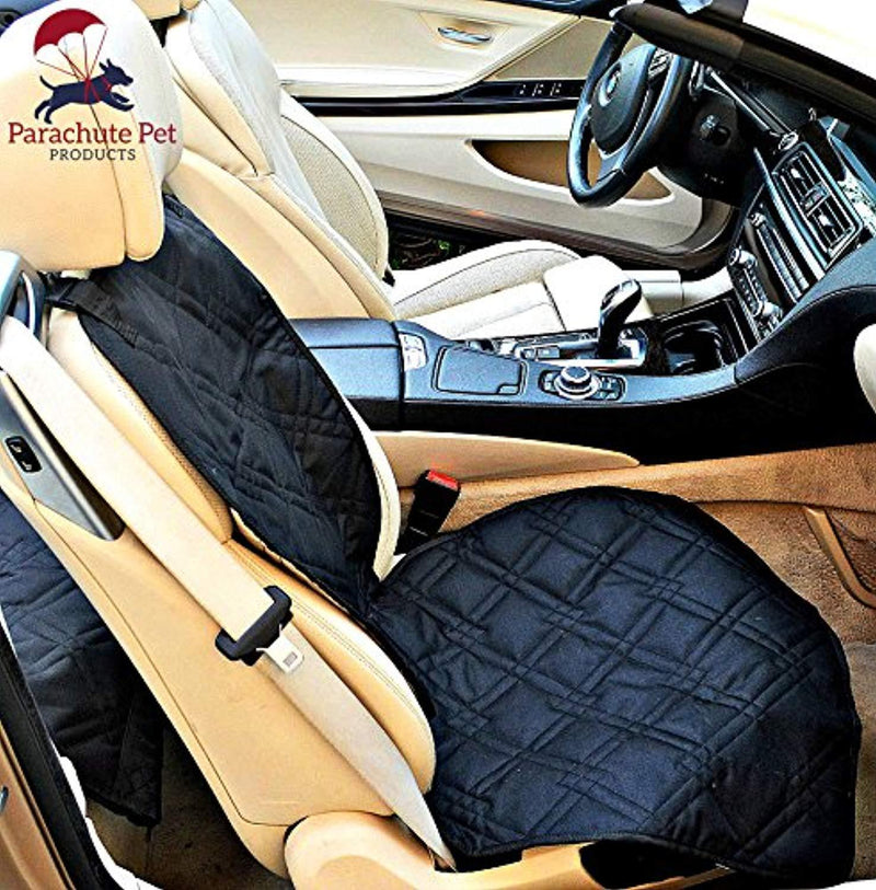 Front Seat Cover with Non-Slip Material and Scratch Proof to Protect Bucket Seat From Dog and Cat Scratches - Machine Washable by Parachute Products