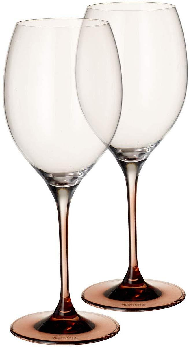 Villeroy & Boch 1137938117 Manufacture Glass Bordeaux Goblet : Set of 2, 10 in/22oz, Clear