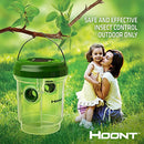 Hoont Solar Powered Outdoor Wasp Trap with UV LED Light – Traps Wasps, Yellow Jackets, Bees, Hornets, Etc. - Effectively Lures, Traps and Retains Bees Until They Die