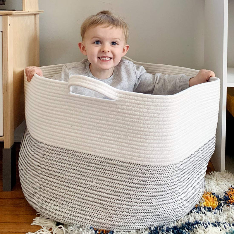 "Goodpick Large Basket 23.6""D x 14.2""H 