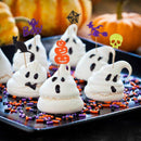 Antner Halloween Cupcake Topper Halloween Party Cupcake Decor Food Picks,48 Pieces