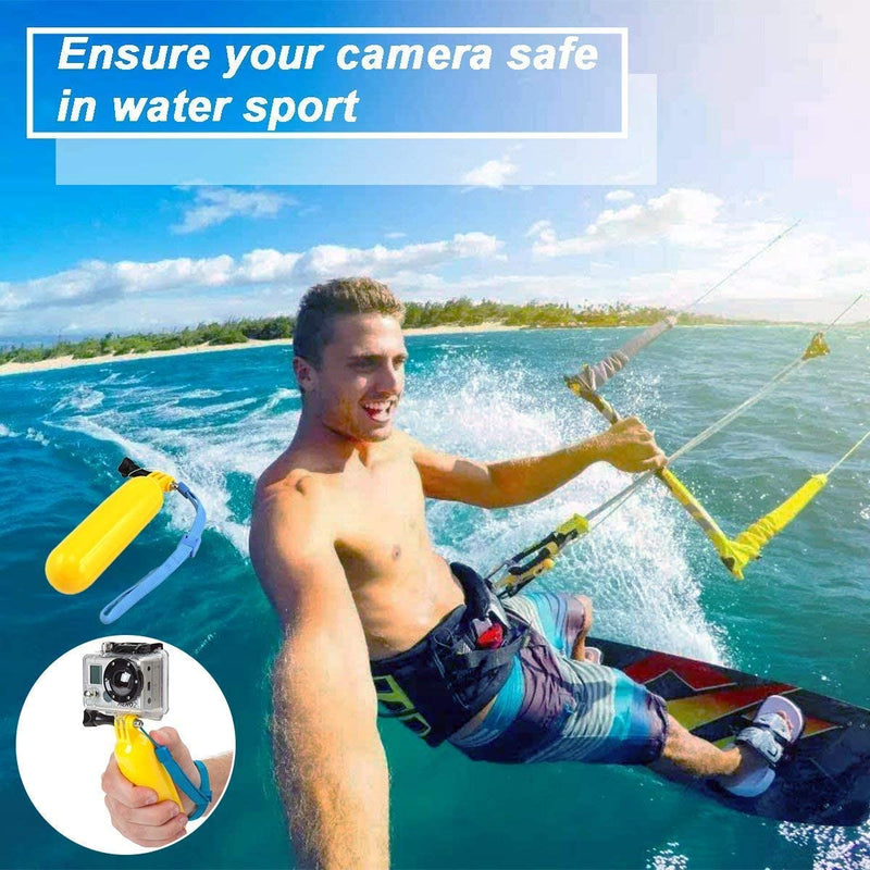 61 in 1 Action Camera Accessories Kit for GoPro Hero 8 7 6 5 4 Hero Session 5 Black SJ4000 5000 6000 Xiaomi Yi AKASO Campark Action Camera by  MaxCo