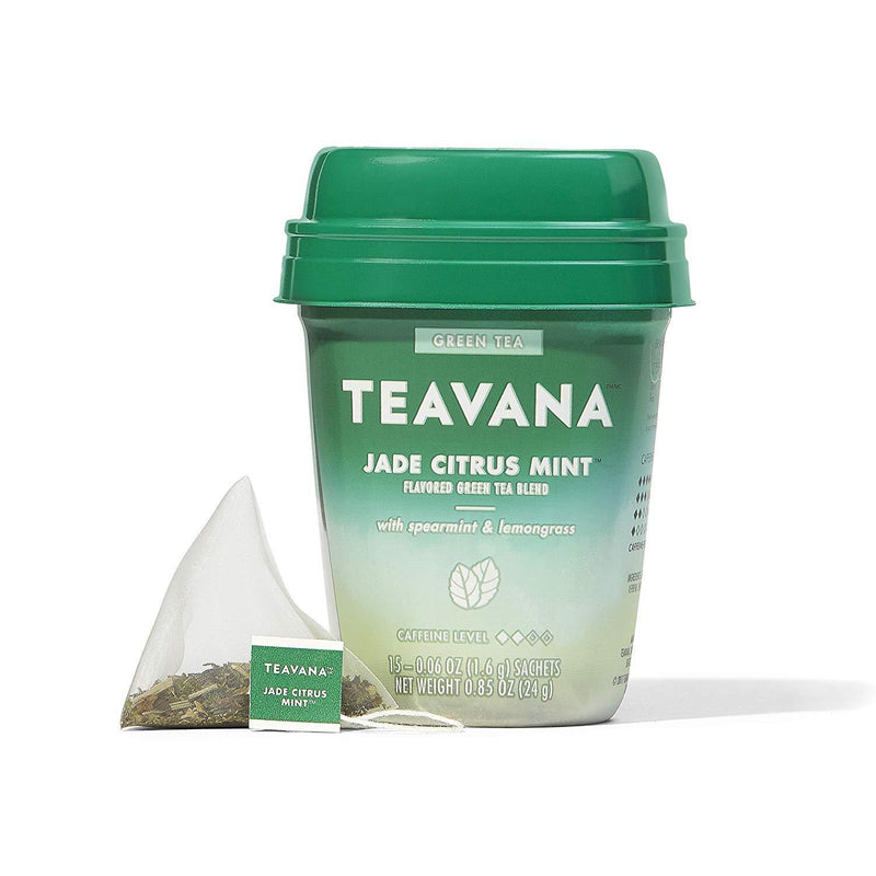 Teavana Jade Citrus Mint, Green Tea With Spearmint and Lemongrass, 100 Count total (.Jade Citrus - 100 Count)