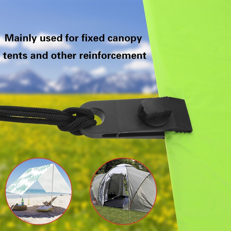 10 Pcs Heavy Duty Multi-Purpose Thumb Screw Tarp Clips Clamps Withstand 60mph Strong Wind Fit for Holding Up Tarp, Canopy, Car Cover, Winter Boat Cover, Pool Cover, Sun Shade by JINSEY