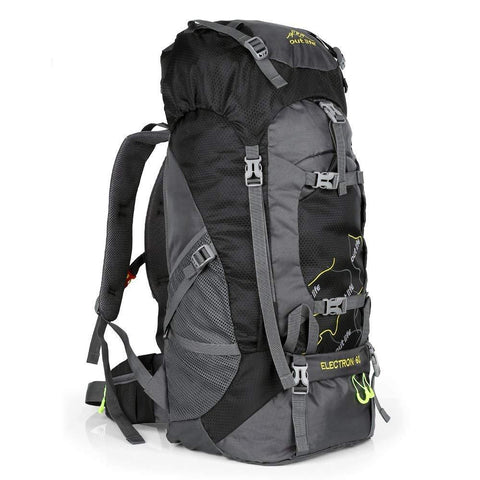 OUTLIFE 60L Hiking Backpack, Lightweight Waterproof Travel Backpack for Men Women Camping Trekking Touring