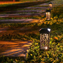 OxyLED Solar Path Lights, 8-Pack Solar Powered Garden Pathway Lights