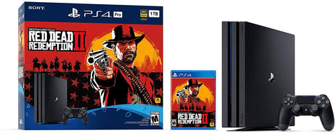 PlayStation 4 Pro 1TB Console -  Red Dead Redemption 2 Bundle [Discontinued]