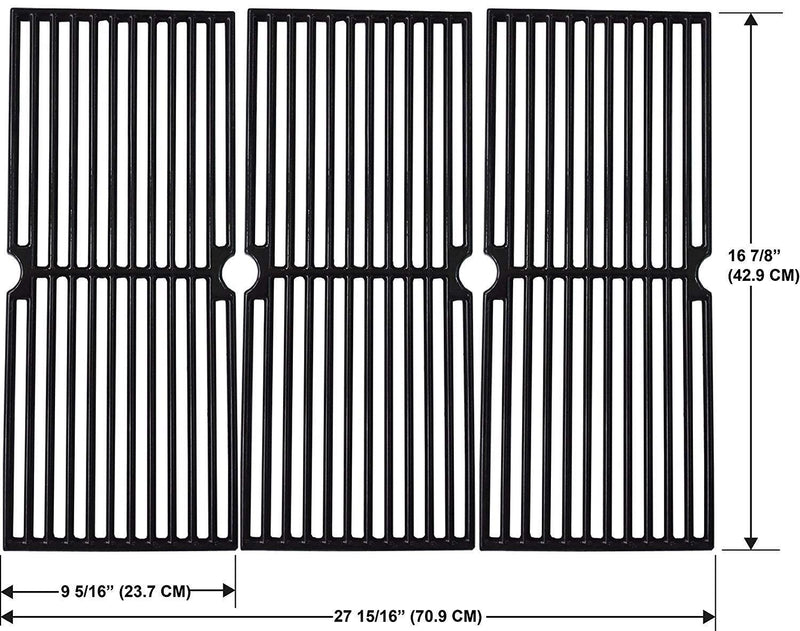Enamel Cast Iron Grates for Charbroil 463436215, 463441514, 463440109, 463436213, 463436214, 463439915, 463436413, 463439915, 463440109, 463441312, 463441412, 463441512, 463441513, 463460708