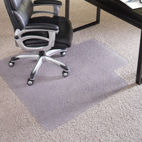 ES Robbins 124381 Chair Mat Extra-High Pile Carpet, 46