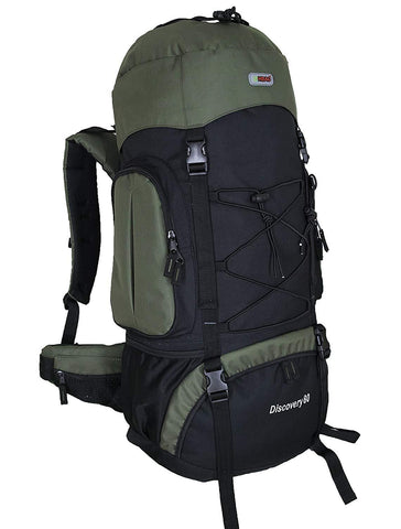 HBAG Discovery 80L 5400ci Internal Frame Camping Hiking Backpack