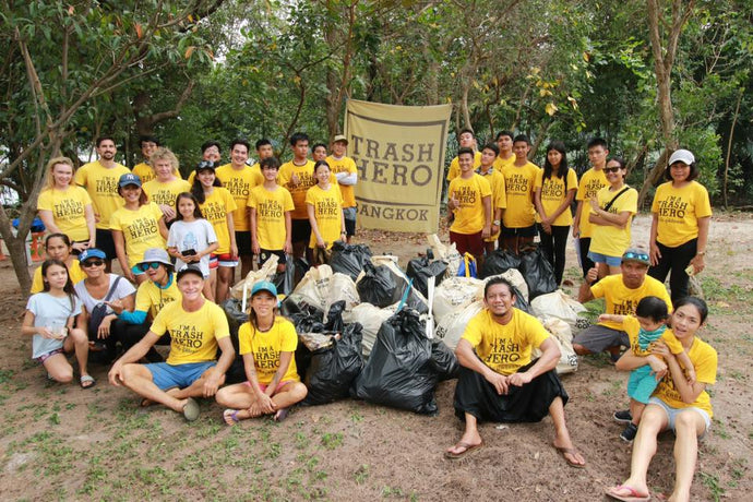 Trash Hero Thailand are waging war on waste and saving our seas