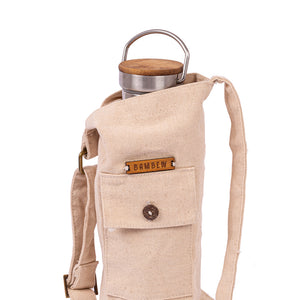 Over The Shoulder Water Bottle Bag