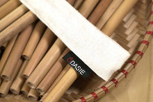 Drawstring Bamboo Straw Sleeves (50 pack)