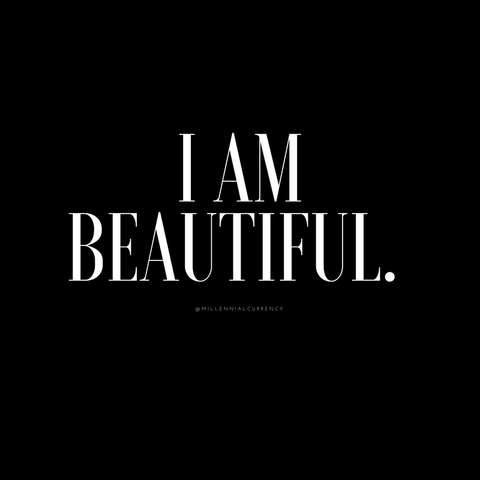 Beautiful Positive Affirmation