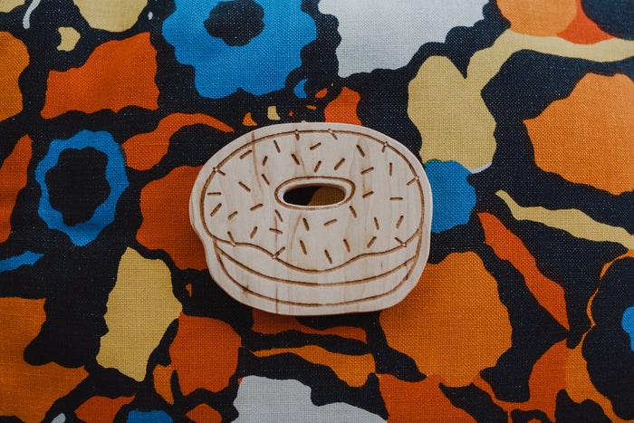 Donut Worry Teething Toy