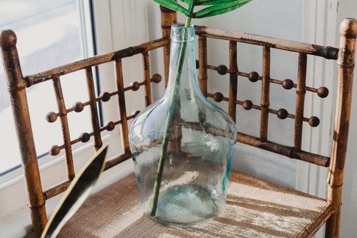 Antique Glass Demijohn
