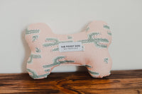 Cactus Garden Dog Bone Squeaky Toy