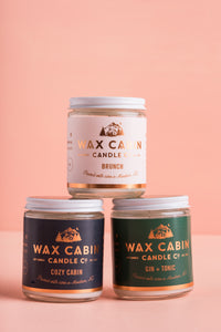 Wax Cabin Candle
