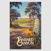 Ballard Canyon AVA Giclée Poster Print on Paper or Canvas