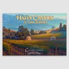 Happy Canyon of Santa Barbara AVA Giclée Poster Print on Paper or Canvas