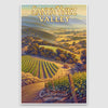 Santa Ynez Valley AVA Giclée Poster Print on Paper or Canvas