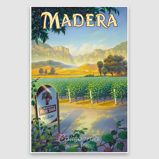 Madera AVA poster print on paper