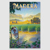 Madera AVA poster print on canvas