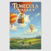 Temecula Valley canvas poster print