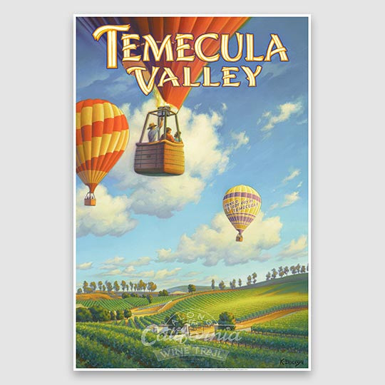 Temecula Valley paper poster print