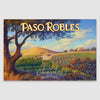 Paso Robles canvas print