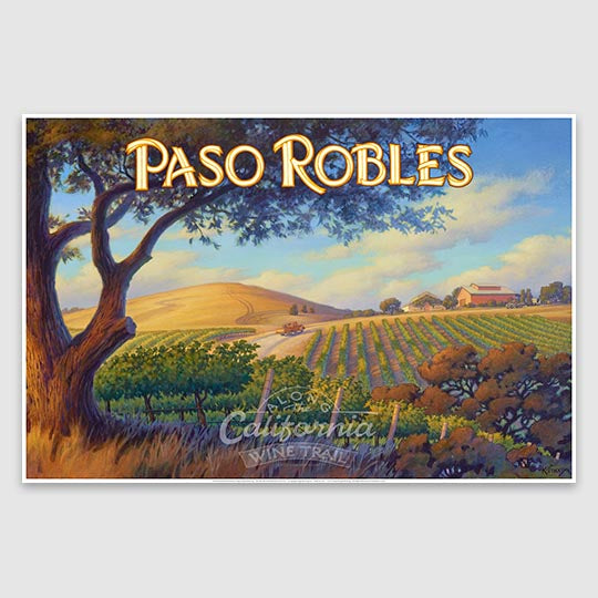 Paso Robles poster print