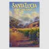 Santa Lucia Highlands canvas print