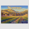 Monterey Wine county canvas print