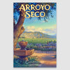 Arroyo Seco Canvas print