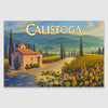 Calistoga AVA poster canvas print