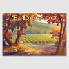 El Dorado wine country artwork