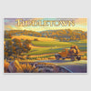 Fiddletown paper poster print