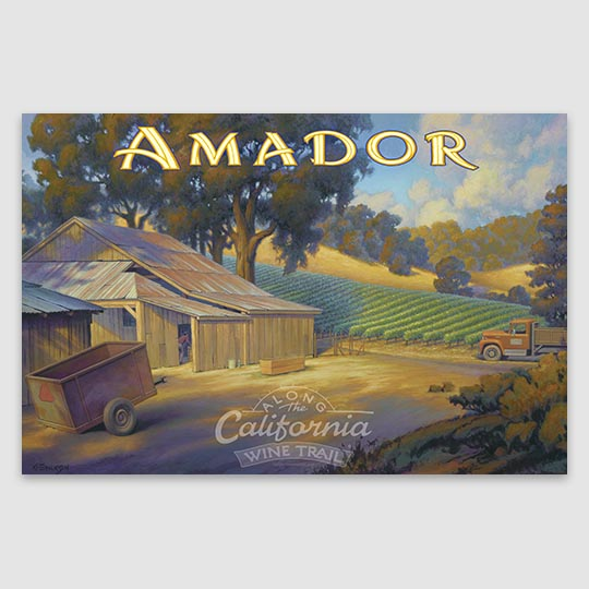 Amador AVA Giclée Poster Print on Paper or Canvas